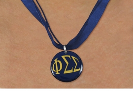 <BR>   NICKEL FREE & ADJUSTABLE NECKLACE !<BR> WHOLESALE FASHION SORORITY JEWELRY <BR>                 EXCLUSIVELY OURS!! <BR>            AN ALLAN ROBIN DESIGN!! <BR>      LEAD, NICKEL & CADMIUM FREE!! <BR>  W21660N - OFFICIAL GREEK SORORITY <BR>PHI SIGMA SIGMA COLOR DISK CHARM ON <Br> NAVY BLUE SHEER DUAL CORDED NECKLACE <BR>          FROM $4.16 TO $9.25 �2015