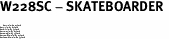 "W228SC - SKATEBOARDER <BR> <FONT size=""2"">Buy 1-2 for $4.05 Each<br>Buy 3-5 for $3.65 Each<br>Buy 6-11 for $3.55 Each<br>Buy 12-23 for $3.45 Each<br>Buy 24-49 for $3.35 Each<br>Buy 50 or More for $3.25 Each<br>Buy 100 or More for $2.35 Each</font>"