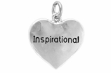 "W268SC - ""INSPIRATIONAL"" HEART<BR> <FONT size=""2"">Buy 1-2 for $4.05 Each<br>Buy 3-5 for $3.65 Each<br>Buy 6-11 for $3.55 Each<br>Buy 12-23 for $3.45 Each<br>Buy 24-49 for $3.35 Each<br>Buy 50 or More for $3.25 Each<br>Buy 100 or More for $2.35 Each</font>"