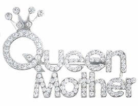 W2731P-ELEGANT QUEEN MOTHER<BR>              PIN AS LOW AS $5.15