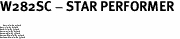 "W282SC - STAR PERFORMER <BR> <FONT size=""2"">Buy 1-2 for $4.05 Each<br>Buy 3-5 for $3.65 Each<br>Buy 6-11 for $3.55 Each<br>Buy 12-23 for $3.45 Each<br>Buy 24-49 for $3.35 Each<br>Buy 50 or More for $3.25 Each<br>Buy 100 or More for $2.35 Each</font>"