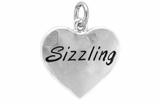 "W301SC - ""SIZZLING"" HEART <BR> <FONT size=""2"">Buy 1-2 for $4.05 Each<br>Buy 3-5 for $3.65 Each<br>Buy 6-11 for $3.55 Each<br>Buy 12-23 for $3.45 Each<br>Buy 24-49 for $3.35 Each<br>Buy 50 or More for $3.25 Each<br>Buy 100 or More for $2.35 Each</font>"