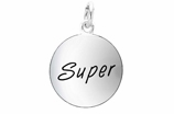 "W303SC - ""SUPER"" CIRCLE<BR> <FONT size=""2"">Buy 1-2 for $4.05 Each<br>Buy 3-5 for $3.65 Each<br>Buy 6-11 for $3.55 Each<br>Buy 12-23 for $3.45 Each<br>Buy 24-49 for $3.35 Each<br>Buy 50 or More for $3.25 Each<br>Buy 100 or More for $2.35 Each</font>"