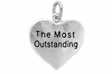 "W309SC - ""THE MOST OUTSTANDING"" HEART<BR> <FONT size=""2"">Buy 1-2 for $4.05 Each<br>Buy 3-5 for $3.65 Each<br>Buy 6-11 for $3.55 Each<br>Buy 12-23 for $3.45 Each<br>Buy 24-49 for $3.35 Each<br>Buy 50 or More for $3.25 Each<br>Buy 100 or More for $2.35 Each</font>"