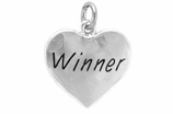"W311SC - ""WINNER"" HEART <BR> <FONT size=""2"">Buy 1-2 for $4.05 Each<br>Buy 3-5 for $3.65 Each<br>Buy 6-11 for $3.55 Each<br>Buy 12-23 for $3.45 Each<br>Buy 24-49 for $3.35 Each<br>Buy 50 or More for $3.25 Each<br>Buy 100 or More for $2.35 Each</font>"