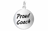 "W314SC - ""PROUD COACH"" CIRCLE <BR> <FONT size=""2"">Buy 1-2 for $4.05 Each<br>Buy 3-5 for $3.65 Each<br>Buy 6-11 for $3.55 Each<br>Buy 12-23 for $3.45 Each<br>Buy 24-49 for $3.35 Each<br>Buy 50 or More for $3.25 Each<br>Buy 100 or More for $2.35 Each</font>"