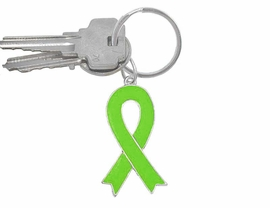 "<br> W5180KC - LIME GREEN AWARENESS<Br> RIBBON KEY CHAIN AS LOW AS $1.99<BR>                    ""EXCLUSIVELY OURS""<BR>WE ARE THE ONLY MANUFACTURER OF<BR>                 THIS KEY CHAIN! ©2005"