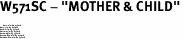 """W571SC - """"MOTHER & CHILD""""<BR> <FONT size=""""2"""">Buy 1-2 for $4.05 Each<br>Buy 3-5 for $3.65 Each<br>Buy 6-11 for $3.55 Each<br>Buy 12-23 for $3.45 Each<br>Buy 24-49 for $3.35 Each<br>Buy 50 or More for $3.25 Each<br>Buy 100 or More for $2.35 Each</font>"""