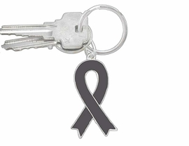 <br>W6454KC - GRAY AWARENESS RIBBON<Br>   KEY CHAIN AS LOW AS $1.99 �2005