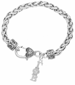 <bR>      WHOLESALE FASHION SORORITY JEWELRY  <BR>                      EXCLUSIVELY OURS!!  <BR>                 AN ALLAN ROBIN DESIGN!!   <BR>                HYPOALLERGENIC - SAFE !!   <BR>           LEAD, NICKEL & CADMIUM FREE!!    <BR>    W861SB1 - OFFICIAL SILVER TONE GREEK  <BR>  GAMMA PHI BETA SORORITY CHARM ON HEART  <Br> CLASP BRACELET FROM $5.90 TO $9.25 �2015