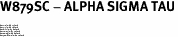 "W879SC - ALPHA SIGMA TAU<BR><FONT size=""2"">Buy 1-2 for $6.75 Each<br>Buy 3-5 for $6.10 Each<br>Buy 6-11 for $5.60 Each<br>Buy 12-23 for $5.10 Each<br>Buy 24-49 for $4.60 Each<br>Buy 50 or More for $4.10 Each</font>"