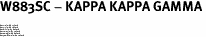 "W883SC - KAPPA KAPPA GAMMA<BR><FONT size=""2"">Buy 1-2 for $6.75 Each<br>Buy 3-5 for $6.10 Each<br>Buy 6-11 for $5.60 Each<br>Buy 12-23 for $5.10 Each<br>Buy 24-49 for $4.60 Each<br>Buy 50 or More for $4.10 Each</font>"