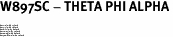 "W897SC - THETA PHI ALPHA<BR><FONT size=""2"">Buy 1-2 for $6.75 Each<br>Buy 3-5 for $6.10 Each<br>Buy 6-11 for $5.60 Each<br>Buy 12-23 for $5.10 Each<br>Buy 24-49 for $4.60 Each<br>Buy 50 or More for $4.10 Each</font>"