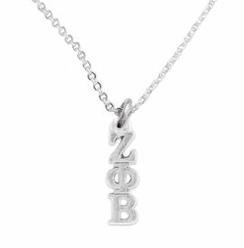 <bR>      WHOLESALE FASHION SORORITY JEWELRY   <BR>                       EXCLUSIVELY OURS!!   <BR>                  AN ALLAN ROBIN DESIGN!!    <BR>                 HYPOALLERGENIC - SAFE !!   <BR>            LEAD, NICKEL & CADMIUM FREE!!    <BR>      W899N1 - OFFICIAL SILVER TONE GREEK  <BR> ZETA PHI BETA SORORITY CHARM ON DELICATE <Br> CHAIN NECKLACE FROM $5.90 TO $9.25 �2015