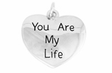 "W981SC - ""YOU ARE MY LIFE"" HEART<BR> <FONT size=""2"">Buy 1-2 for $4.05 Each<br>Buy 3-5 for $3.65 Each<br>Buy 6-11 for $3.55 Each<br>Buy 12-23 for $3.45 Each<br>Buy 24-49 for $3.35 Each<br>Buy 50 or More for $3.25 Each<br>Buy 100 or More for $2.35 Each</font>"