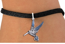 <BR>        WHOLESALE ANIMAL JEWELRY <bR>                EXCLUSIVELY OURS!! <Br>           AN ALLAN ROBIN DESIGN!! <BR>  CLICK HERE TO SEE 1000+ EXCITING <BR>        CHANGES THAT YOU CAN MAKE! <BR>     LEAD, NICKEL & CADMIUM FREE!! <BR>   W1440SB - SILVER TONE AND CLEAR <BR> CRYSTAL HUMMINGBIRD CHARM & BRACELET <BR>         FROM $5.40 TO $9.85 �2013