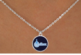 """<BR>WHOLESALE CITADEL COLLEGE NECKLACE<Br>           LEAD & NICKEL FREE!! <Br>          OFFICIALLY LICENSED!! <bR>   W20238N - THE CITADEL MILITARY <Br> COLLEGE """"BULLDOGS"""" LOGO NECKLACE <BR>            FROM $3.94 TO $8.75"""