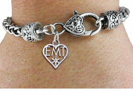<br>            WHOLESALE EMT JEWELRY<bR>                     EXCLUSIVELY OURS!!<BR>               AN ALLAN ROBIN DESIGN!! <BR>         CADMIUM, LEAD & NICKEL FREE!! <BR> W1430SB - EMT HEART CHARM & HEART CLASP <BR>     BRACELET FROM $3.94 TO $8.75 �2013