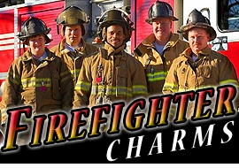 <BR>   WHOLESALE FIREFIGHTER CHARMS <BR> CADMIUM, LEAD AND NICKEL FREE <BR>             SOLD INDIVIDUALLY