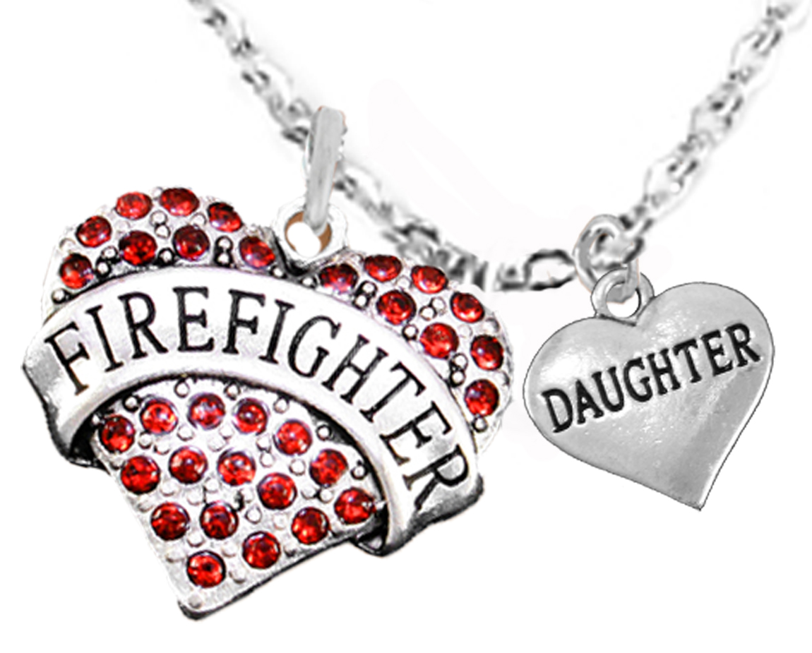fire decal cross wife dmc firefighter maltese blk firewife pendant
