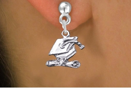 <br>      WHOLESALE GRADUATION JEWELRY<bR>                  EXCLUSIVELY OURS!! <BR>             AN ALLAN ROBIN DESIGN!! <BR>       CADMIUM, LEAD & NICKEL FREE!! <BR>    W1431SE - SILVER TONE GRADUATION <BR>      CAP AND DIPLOMA CHARM EARRINGS <BR>           FROM $4.50 TO $8.35 �2013