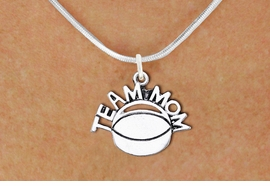 "<br>          WHOLESALE HOCKEY NECKLACES!! <bR>                    EXCLUSIVELY OURS!! <BR>               AN ALLAN ROBIN DESIGN!! <BR>      CLICK HERE TO SEE 1000+ EXCITING <BR>            CHANGES THAT YOU CAN MAKE! <BR>         CADMIUM, LEAD & NICKEL FREE!! <BR>        W1489SN - DETAILED SILVER TONE <BR>   ""TEAM MOM"" HOCKEY CHARM & NECKLACE <BR>              FROM $4.50 TO $8.35 �2013"