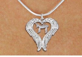"<BR>WHOLESALE JEWISH JEWELRY<bR>               EXCLUSIVELY OURS!! <BR>             LEAD & NICKEL FREE!! <BR>   JEWISH THEMED CHARM NECKLACE!! <BR>   W20256N - GUARDIAN ANGEL WINGS <Br> WITH DETAILED SILVER TONE ""CHAI"" <BR>   CHARM ON SNAKE CHAIN NECKLACE <BR>      FROM $5.63 TO $12.50 �2013"