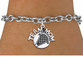 "<br>        WHOLESALE LACROSSE JEWELRY<bR>                    EXCLUSIVELY OURS!!<BR>               AN ALLAN ROBIN DESIGN!!<BR>      CLICK HERE TO SEE 1000+ EXCITING<BR>            CHANGES THAT YOU CAN MAKE!<BR>         CADMIUM, LEAD & NICKEL FREE!!<BR>       W1483SB - DETAILED SILVER TONE <Br> ""TEAM MOM"" LACROSSE CHARM & BRACELET <BR>             FROM $4.50 TO $8.35 �2013"