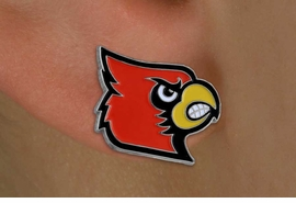 "<br>      WHOLESALE LOUISVILLE JEWELRY<Br>                  LEAD & NICKEL FREE!!<Br>        OFFICIAL COLLEGE LICENSED!!!<bR>W15780E - UNIVERSITY OF LOUISVILLE<Br>         ""CARDINALS"" POST EARRINGS<BR>                 FROM $4.50 TO $10.00"