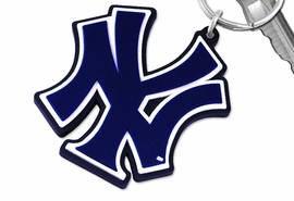 "<bR>WHOLESALE MLB BASEBALL KEYCHAIN <BR>           OFFICIAL MLB LICENSED!! <br>            LEAD & NICKEL FREE!!! <br>      W20372KC - NEW YORK YANKEES <BR> ""NY"" LOGO LARGE RUBBER KEY CHAIN <BR>        FROM $1.99"