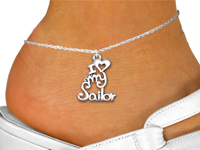 Wholesale Navy Anklet Jewelry Exclusively Ours An Allan Robin Design Cadmium Lead Nickel