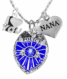 "<Br>                           WHOLESALE POLICE JEWELRY  <BR>                             AN ALLAN ROBIN DESIGN!! <Br>                    CADMIUM, LEAD & NICKEL FREE!!  <Br>           W1329-380-1828N1  I LOVE YOU "" DAUGHTER"" HEART  <BR>         CHARMS ON ADJUSTABLE CHAIN NECKLACE<BR>                      FROM $7.50 TO $9.50 �2016"
