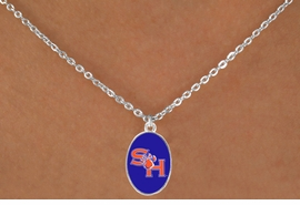 <BR>WHOLESALE SAM HOUSTON UNIVERSITY JEWELRY<Br>                  LEAD & NICKEL FREE!!<Br>                OFFICIALLY LICENSED!!<bR> W19126N - SAM HOUSTON UNIVERSITY<Br>BEARKATS NECKLACE FROM $3.65 TO $8.75