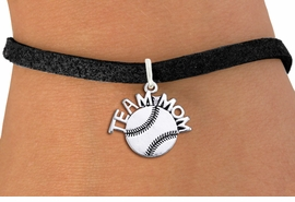 "<br> WHOLESALE TEAM MOM SOFTBALL BRACELET <bR>                    EXCLUSIVELY OURS!!<BR>               AN ALLAN ROBIN DESIGN!!<BR>      CLICK HERE TO SEE 1000+ EXCITING<BR>            CHANGES THAT YOU CAN MAKE!<BR>         CADMIUM, LEAD & NICKEL FREE!!<BR>       W1481SB - DETAILED SILVER TONE <Br> ""TEAM MOM"" SOFTBALL CHARM & BRACELET <BR>             FROM $4.15 TO $8.00 �2013"