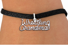 "<br>        WHOLESALE WRESTLING JEWELRY<bR>                  EXCLUSIVELY OURS!! <BR>             AN ALLAN ROBIN DESIGN!! <BR>     LICK HERE TO SEE 1000+ EXCITING <BR>          CHANGES THAT YOU CAN MAKE! <BR>       CADMIUM, LEAD & NICKEL FREE!! <BR>  W1428SB - SILVER TONE SCRIPT WORDS <Br>  ""WRESTLING GRANDMA"" CHARM BRACELET <BR>            FROM $4.15 TO $8.00 �2013"