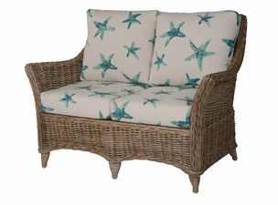 Amherst Wicker Loveseat