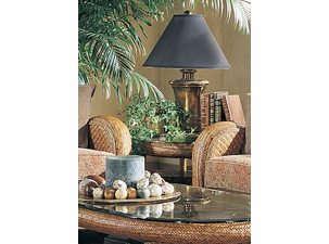 Bermuda Wicker End Table