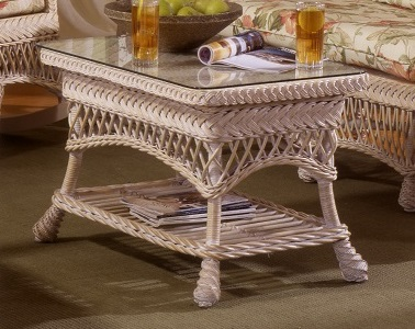 biscayne Wicker coffee Table