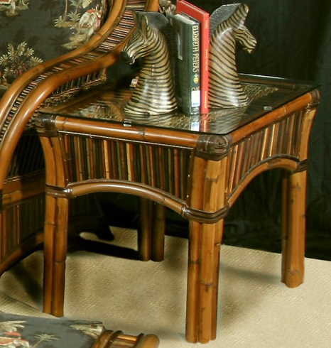 Cape town Rattan End Table
