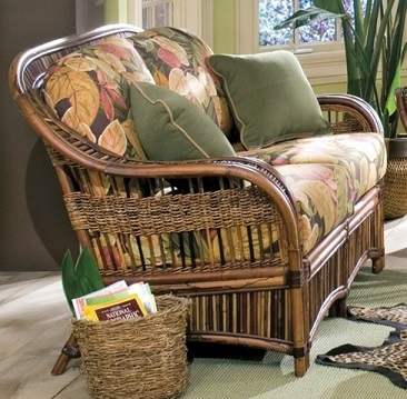 Cape town Rattan Loveseat