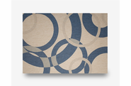 "Champagne Neptune Indoor Outdoor Rug: 5'3"" x 7'4"""