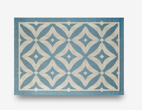 "Charleston Spa Indoor Outdoor Rug: 5'3"" x 7'4"""