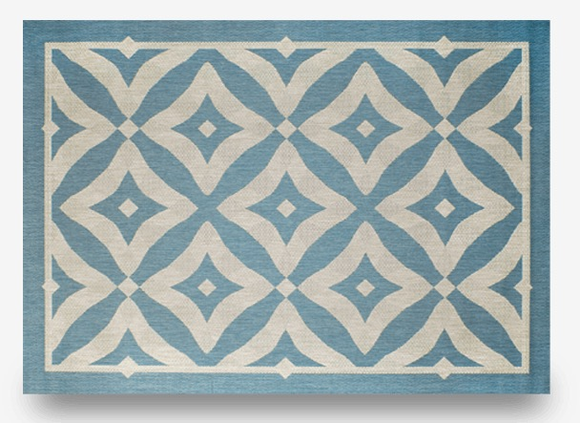 "Charleston Spa: Indoor Outdoor Rug: 7'10"" x 10'"