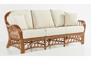Crystal Lake Rattan Sofa
