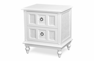 Destin Wicker 2 Draw Nightstand