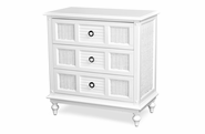 Destin Wicker 3 Draw Dresser