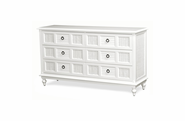 Destin Wicker 6 Draw Dresser