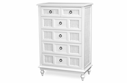 Destin Wicker 6 Draw Vertical Dresser