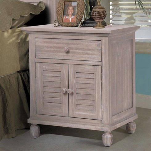 Driftwood Distressed Nightstand
