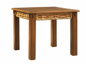 Greenwich Rectangular Wicker End Table